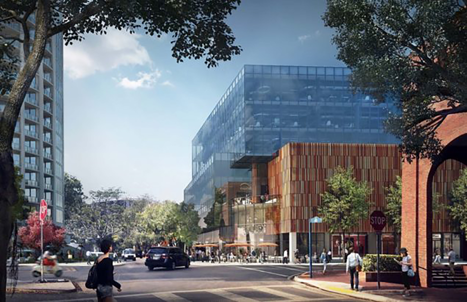 Mary Street Office Complex Rendering